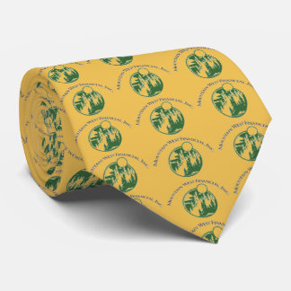 """your logo here"" Customizable Logo Tie"