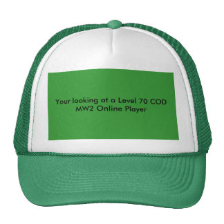 Your looking at a Level 70 COD MW2 Online Player Cap