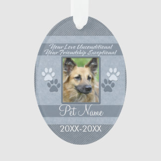 Your Love Unconditional Pet Sympathy Custom