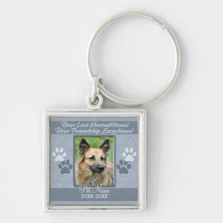 Your Love Unconditional Pet Sympathy Custom Key Chain