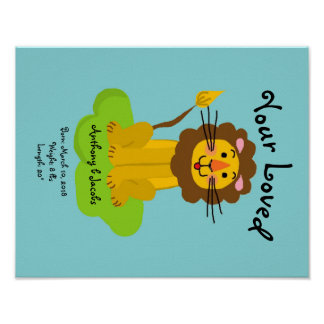 Your loved Baby Birth Poster