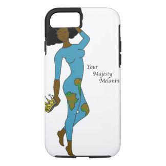 Your Majesty Melanin iPhone 7 case