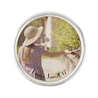 Your memoirs lapel pin