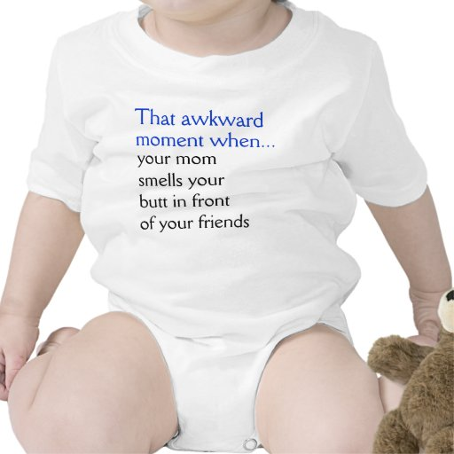 Your Mom Smells Your Butt Baby Bodysuits