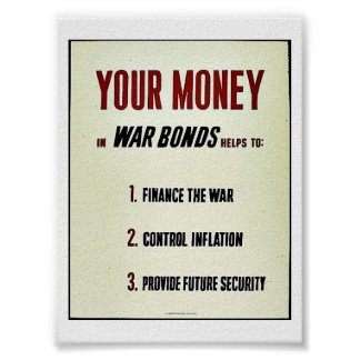 Your Money Posters