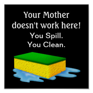 Your Mother Doesn't Work Here! - SRF Poster