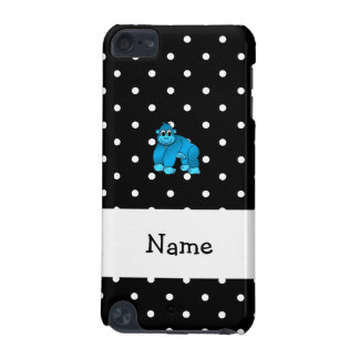 Your name blue gorilla black white polka dots iPod touch 5G cases