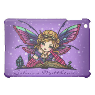 """Your Name"" Bookworm Fairy Fantasy Art Hannah Lynn iPad Mini Cases"