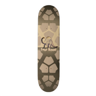 Your Name Dinosaur Skateboard