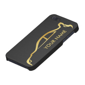 Your Name Gold STI iPhone Case