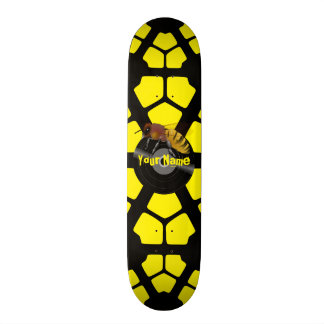 Your Name Honey Bee Skateboard