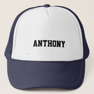 Your Name on this Customized Cap Template