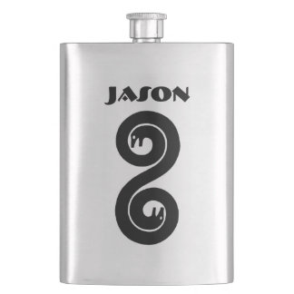 Your Name on this Serpent Flask