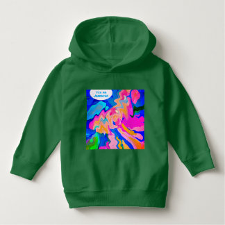 YOUR NAME Puppy Art warm Toddlers Pullover Hoodies