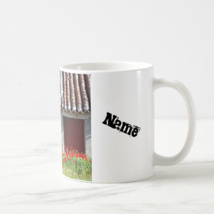 Your Name Travel Spain Chic Coffee Mug