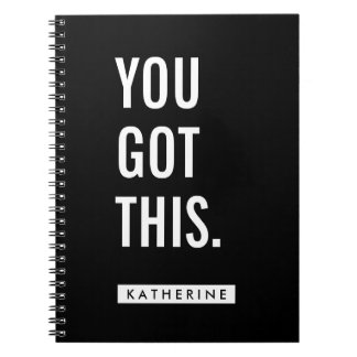 Your Name | You Got This Notebooks