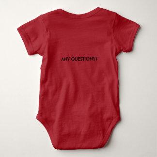 Your New Demanding Newcome Baby Bodysuit