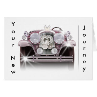 YOUR NEW JOURNEY-WEDDING CARD