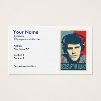 Your Obamicon.Me Business Card