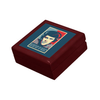 Your Obamicon.Me Small Square Gift Box