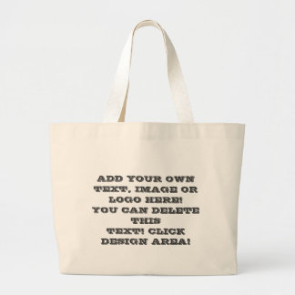 Your Own Image Text Logo Here Make Canvas Tote Bag