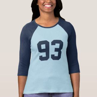 Your Own Numbers and Name T-Shirt