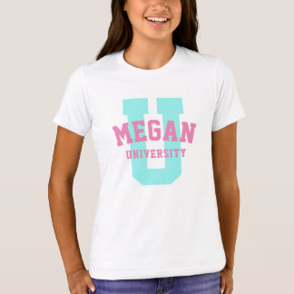 Your Own Personalized University Logo T-Shirt