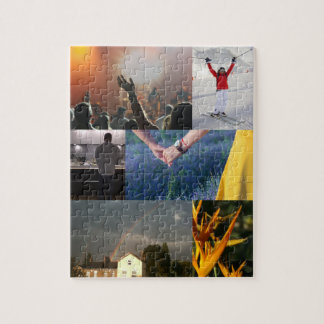 Your Own Photo Collage Jigsaw Jigsaw Puzzle