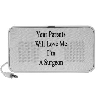 Your Parents Will Love Me I'm A Surgeon Laptop Speaker