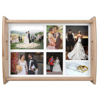 Your personal photos on this serving tray