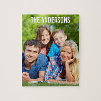 Your Personalized Family Photo Puzzle L