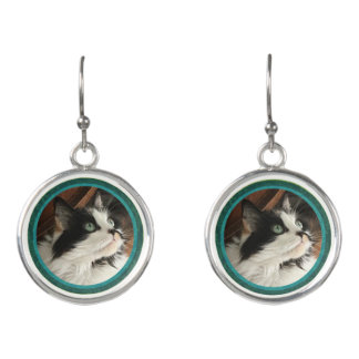 Your Pet Photo! Add your own photo! Pet Love Earrings