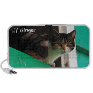 Your pet photo cute kitty cat easy to personalize speakers