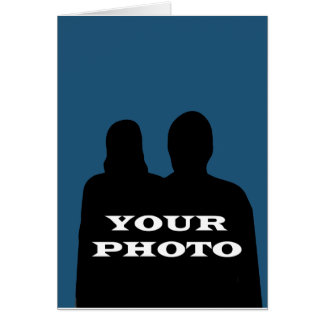 Your Photo  5 x 7  vertical Greeting Card