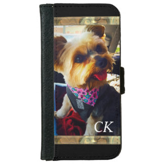 Your Photo and Monogram iPhone 6 Wallet Case