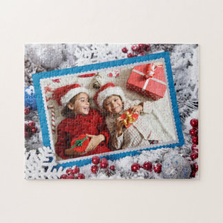 YOUR PHOTO custom Christmas puzzle