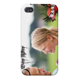 Your Photo Ever After Monogram Swirly iPhone Cover iPhone 4 Cases