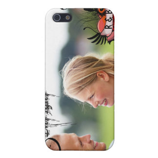Your Photo Ever After Monogram Swirly iPhone Cover iPhone 5/5S Cases