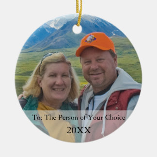 Your Photo Gift Tag & Christmas Ornament