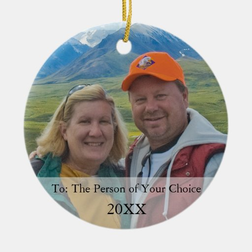 Your Photo Gift Tag & Christmas Ornament