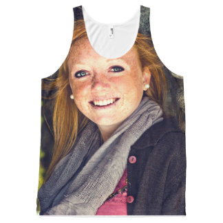 Your Photo Graduation, Family, Baby, Pet etc All-Over Print Tank Top