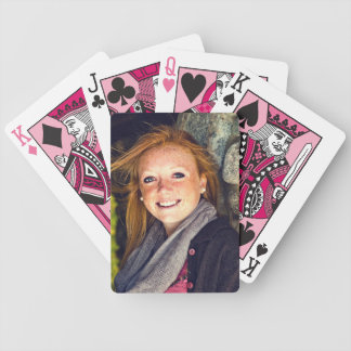 Your Photo Graduation, Family, Baby, Pet etc Bicycle Playing Cards