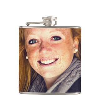 Your Photo Graduation, Family, Baby, Pet etc Hip Flask