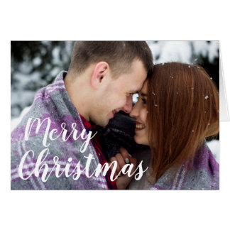 Your Photo Here Christmas Card
