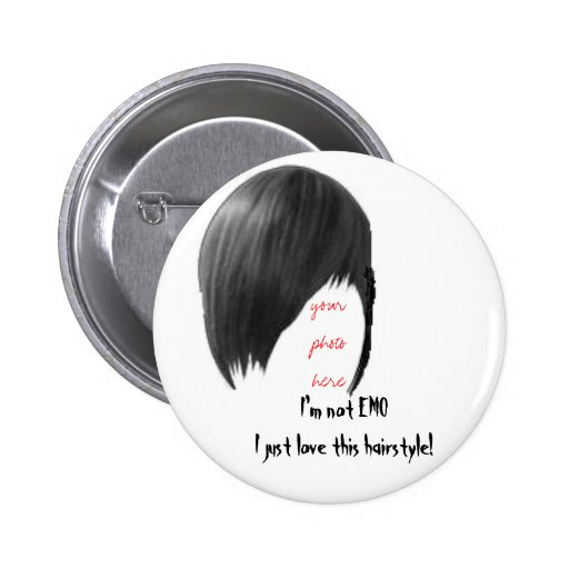 your photo here, I'm not EMO I just love this hai. Pins