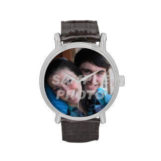 Your photo here memento occasion custom wristwatch