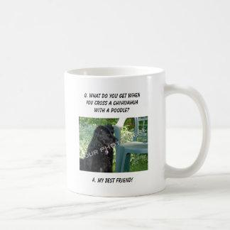 Your Photo Here! My Best Friend Chihuahua Mix Basic White Mug