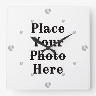 Your Photo Here Wall Clock