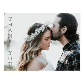 Your Photo Here - Wedding Thank you Card