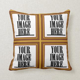 Your Photo/ Image Customizable Tile Throw Pillows